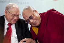 <p>Jack Templeton and His Holiness<br /> the Dali Lama</p>